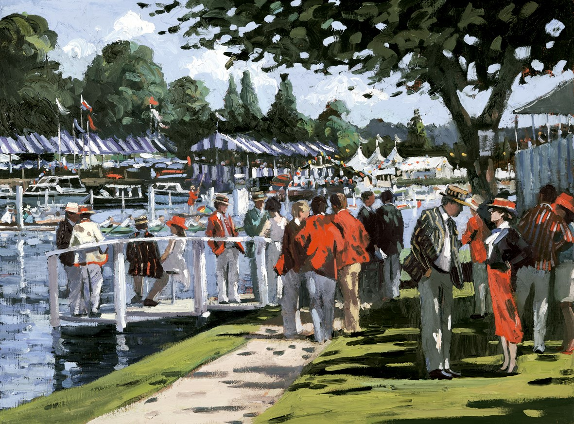 English Elegance by Sherree Valentine Daines - Hand Finished Limited Edition on Canvas sized 26x19 inches. Available from Whitewall Galleries